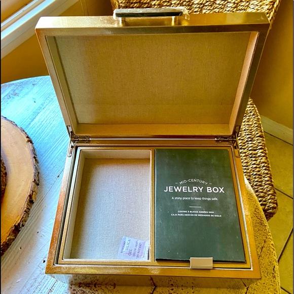 West Elm Mid-century-inspired jewelry box.